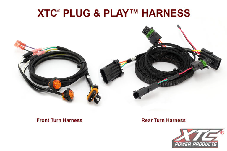 Can-Am Maverick X3 Plug and Play Turn Signal System with Horn