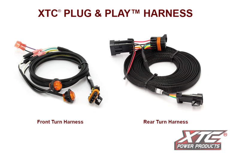 2019 RZR XP Plug & Play™ Turn Signal System W/Horn uses Factory Brake Lights*Also fits 2017+ RZR XP Factory Ride Command Models w/8pin tail light harness