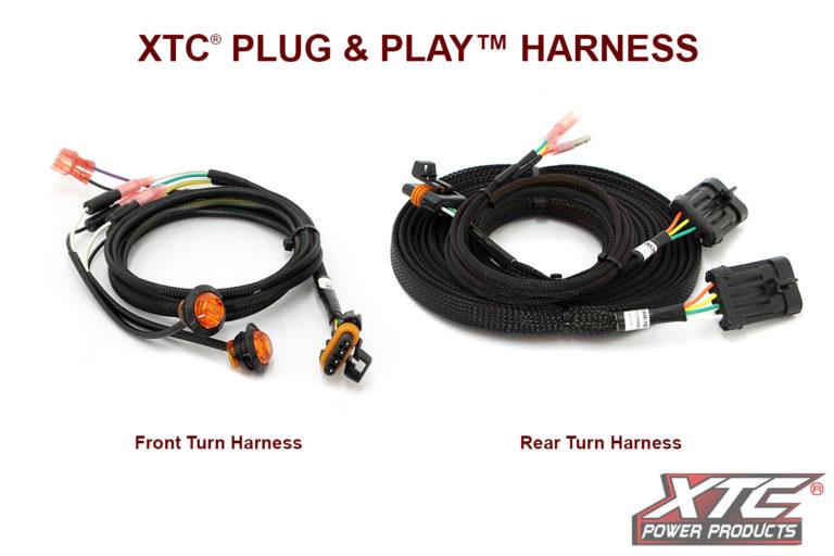 2017 Yamaha Wolverine Plug & Play™ Turn Signal System W/Horn uses Factory Brake Light
