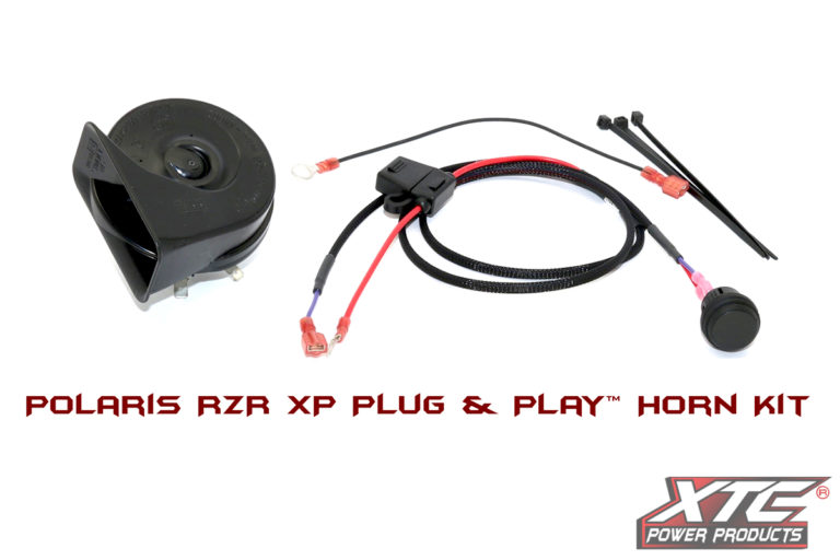 Polaris RZR XP Plug and Play Horn Kit