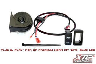 Polaris RZR XP Plug & Play™ Horn Kit with Blue LED Rocker Switch