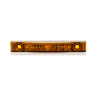 "Thin Line Amber 4"" 7 LED's P2PC"