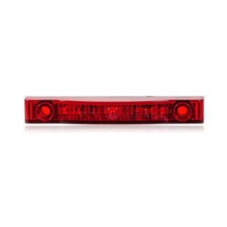 "Thin Line Red 4"" 7 LED's P2PC - Used on Honda Pioneer 500 Rear w/TSS-UNI"