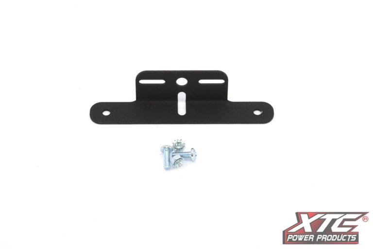 License Plate Frame Bracket - Black