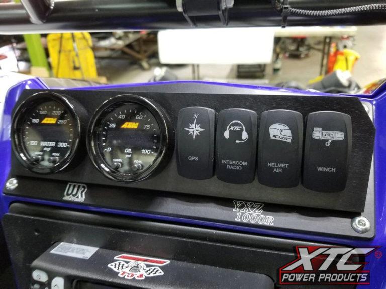 Yamaha YXZ 4 Switch Power System Mounted in Dash