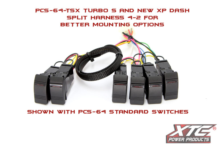 Polaris Turbo S & New XP Body Plug & Play™ 6 Switch Power Control System