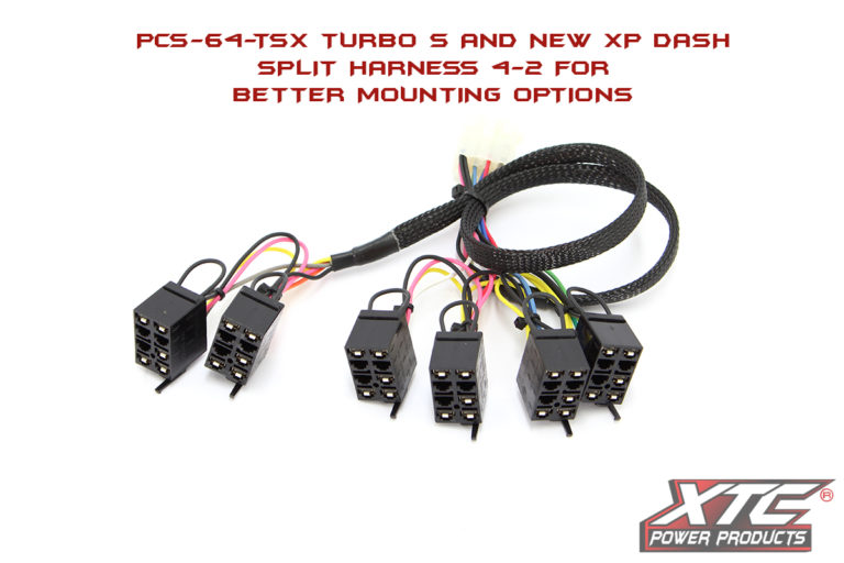 Polaris Turbo S & New XP Body Plug & Play™ 6 Switch Power Control System - Switches not Included