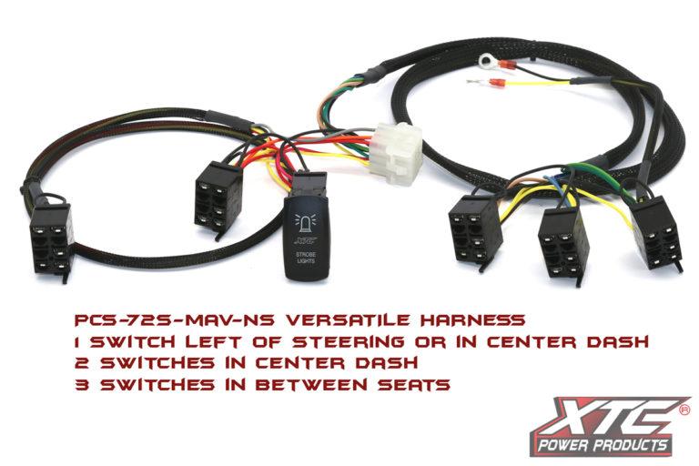RZR XP 6 Switch Power Control System with Strobe System, 1 Switch - Strobe