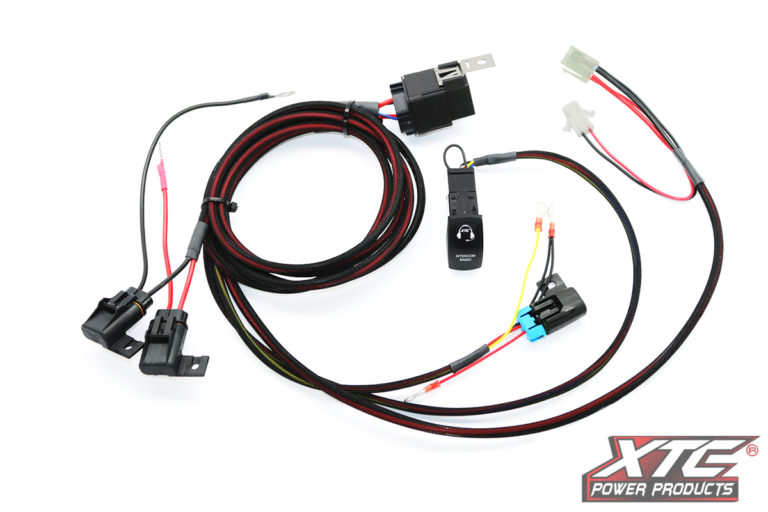 RZR Plug & Play™ 1 Switch Power Control System for Radio and Intercom