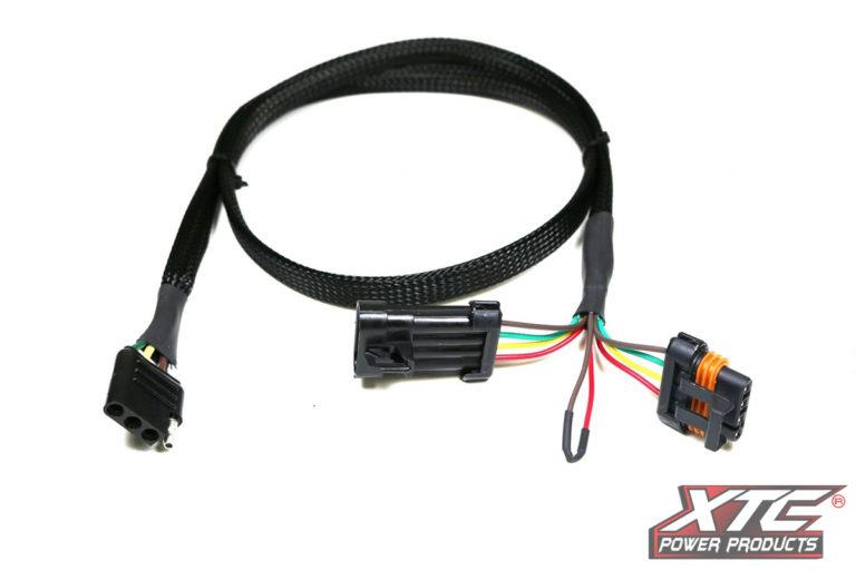 Polaris General & 2019 Ranger XP Plug & Play™ OEM Harness to 4 Pin Flat Trailer Connector