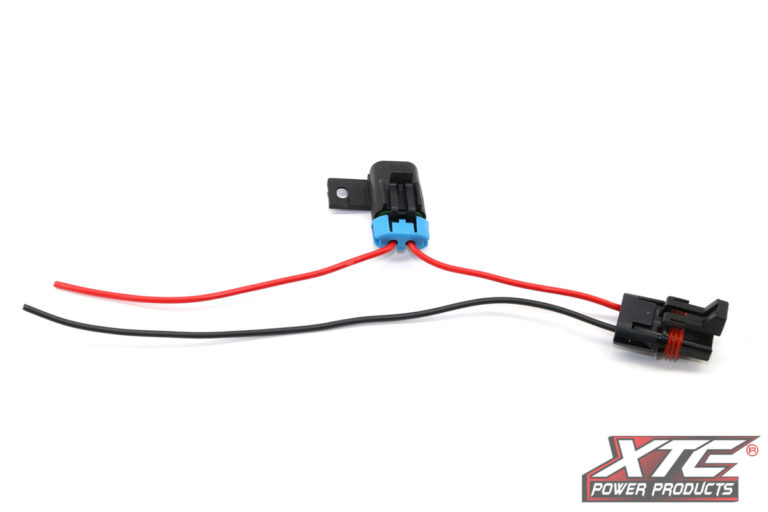 "Polaris Plug & Play™ Busbar Adapter - Full Time Fused Power Out - 14GA x 12"" Pig Tail"