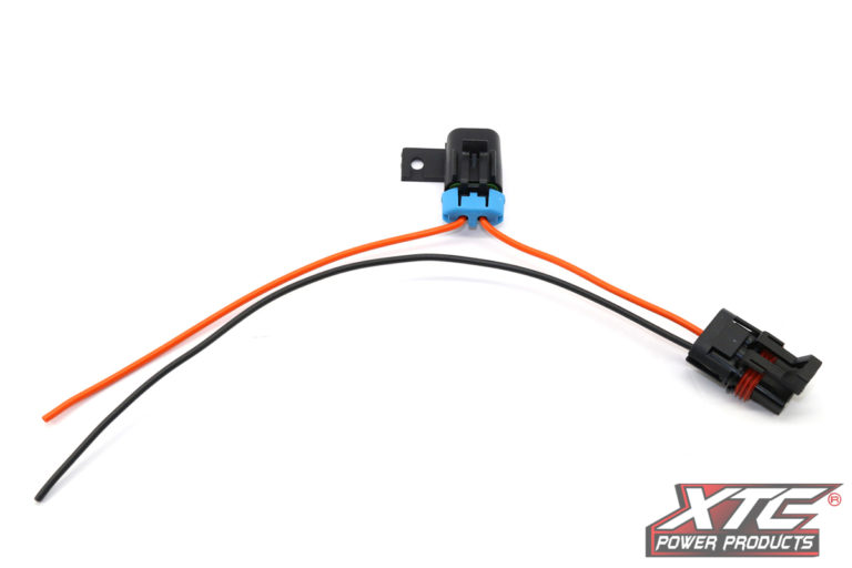 """Polaris Plug & Play™ Busbar Adapter - Switched Fused Power Out - 14GA x 12"""" Pig Tail"""