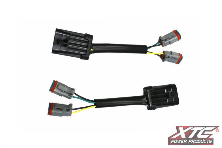 RZR XP Plug & Play™ Headlight Adapter, Harness to 2 Deutsch DT06-2S Connectors