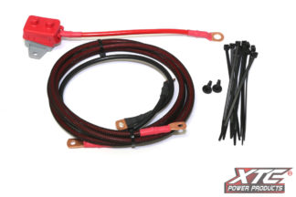 RZR XP Power Cable from Battery to OEM Busbar - 2 Seat with Circuit Breaker