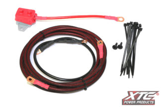 RZR XP Power Cable from Battery to OEM Busbar - 4 Seat with Circuit Breaker