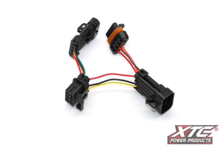 RZR XP Plug and Play OE Installed Ride Command TSS Adapter - 8 Terminal to 4