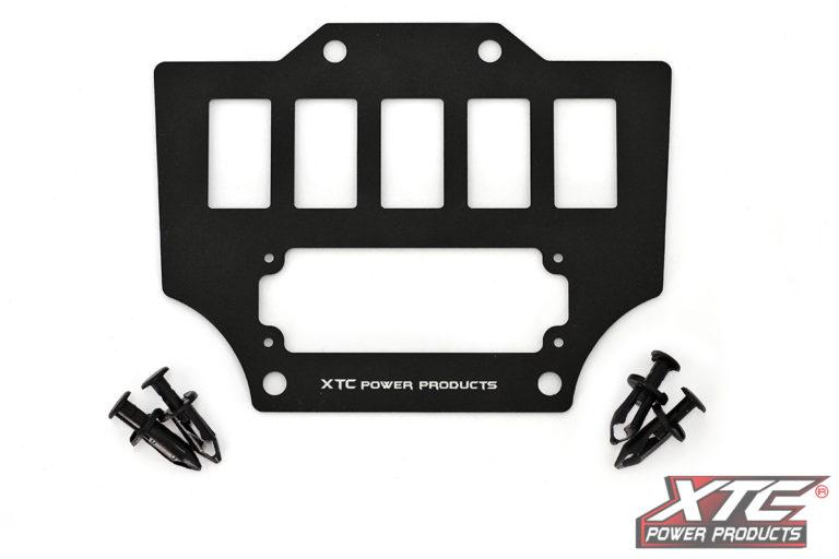 Honda Talon 5 Switch & Intercom Mounting Plate