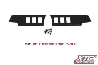 RZR XP 6 Switch Dash Mounting Plate 2014 & Newer