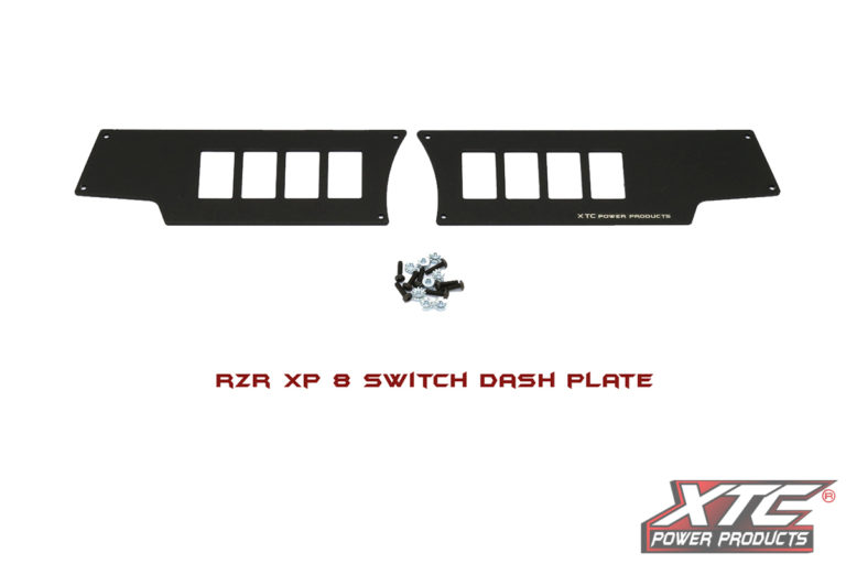 RZR XP 8 Switch Dash Mounting Plate 2014 & Newer