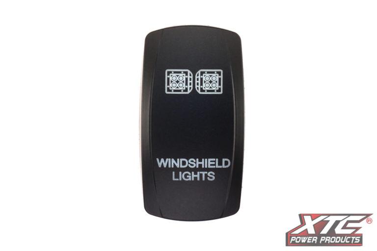 Windshield Lights Rocker/Actuator, Contura V, Rocker Only