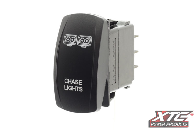 Chase Lights Rocker Switch