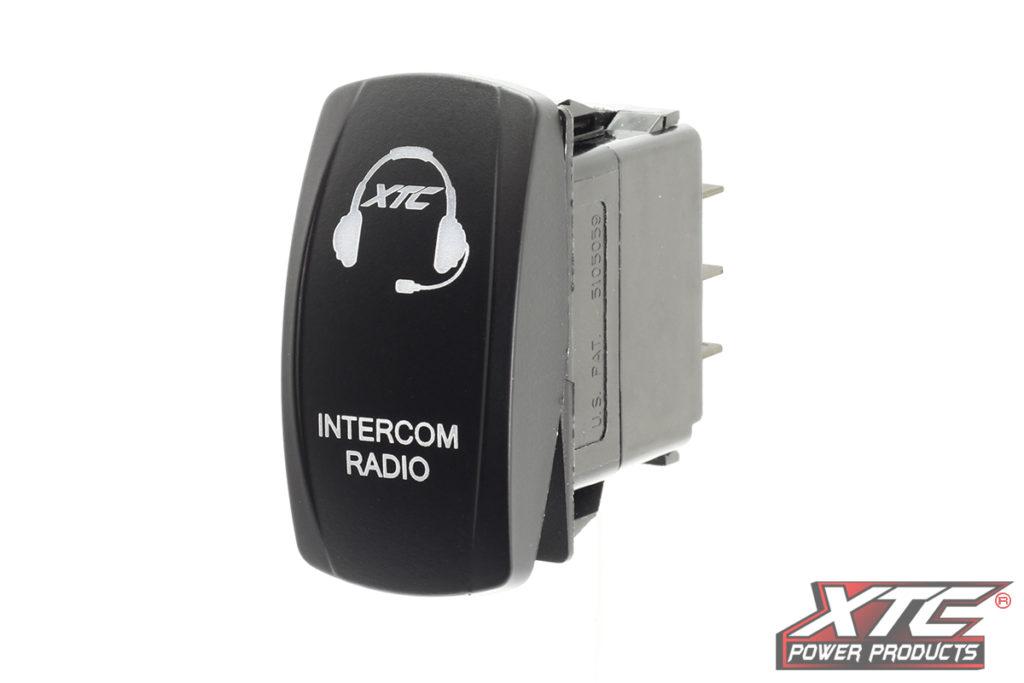 Intercom Radio Rocker Switch