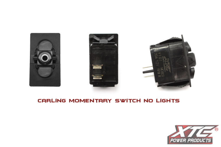 Carling Contura V SPST Momentary Switch with no Lights