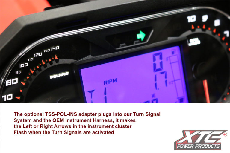 Polaris Instrument Cluster - Lets TSS's use the OEM Inst. cluster