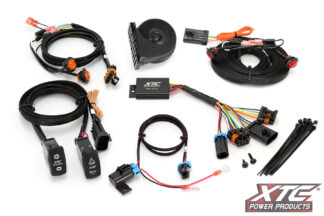 """Self-Canceling Turn Signal System W/Horn - 3/4"""" Rear Tail Lights Included"""