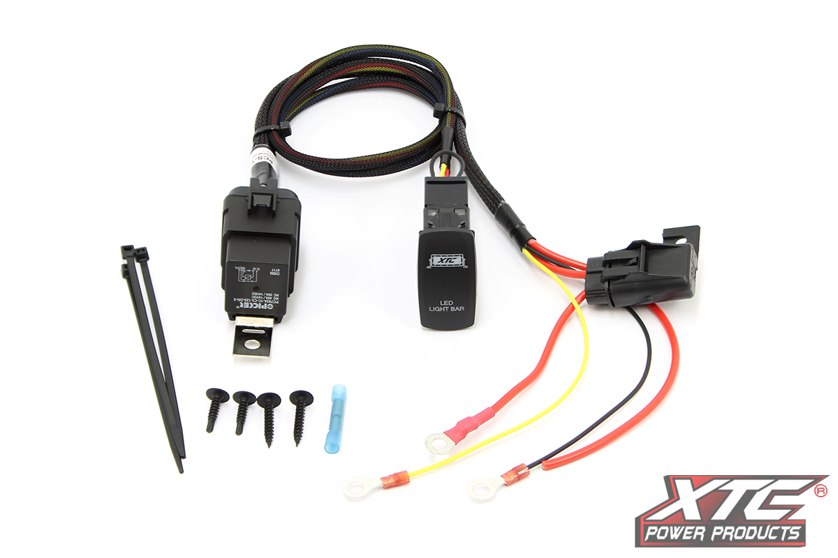 High Power Light Bar or Accessory Wiring Harness - XTC Power ProductsXTC Power Products