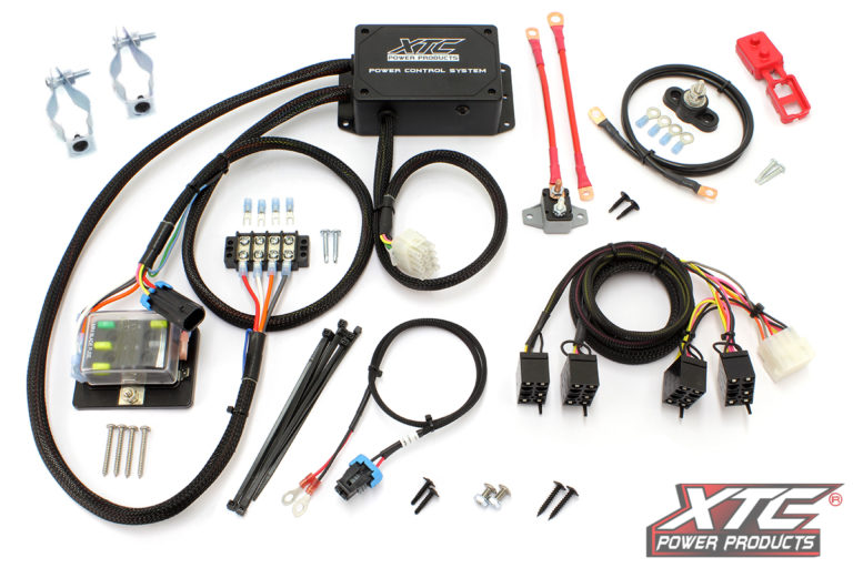 can-am maverick x3 4 switch power control system without switches