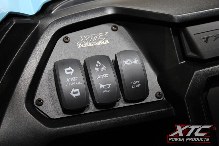 Honda Talon driver side switch mounting plate