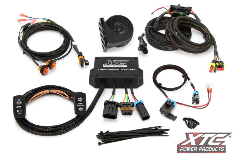 Can-Am Defender Plug and Play Turn Signal System W/Horn uses Factory Brake Lights
